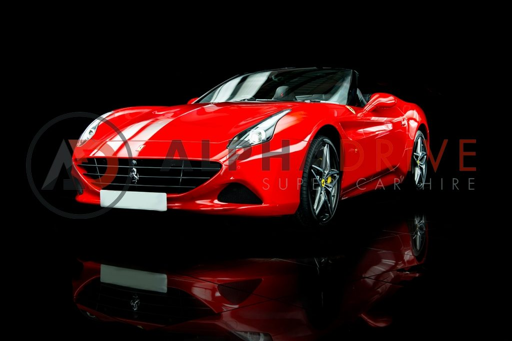 Ferrari California T front view