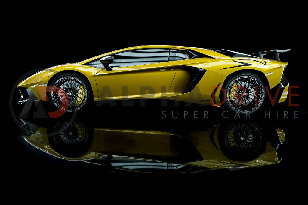 Lamborghini Aventador Superveloce Coupe Side