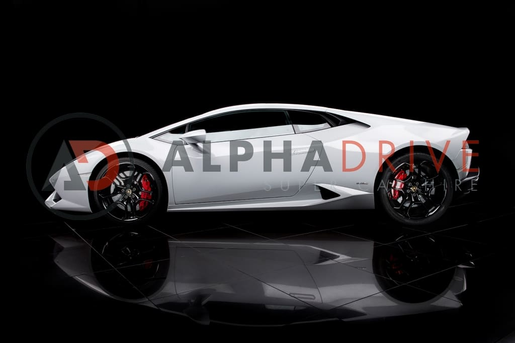 Lamborghini White car hire
