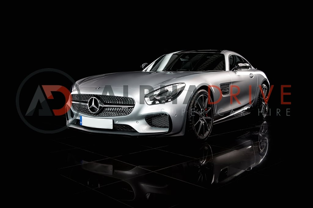 Mercedes AMG front view