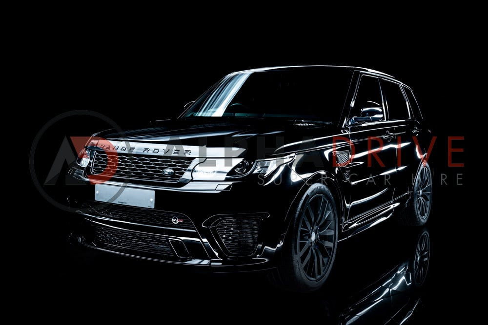 Hire the New Range Rover SVR today