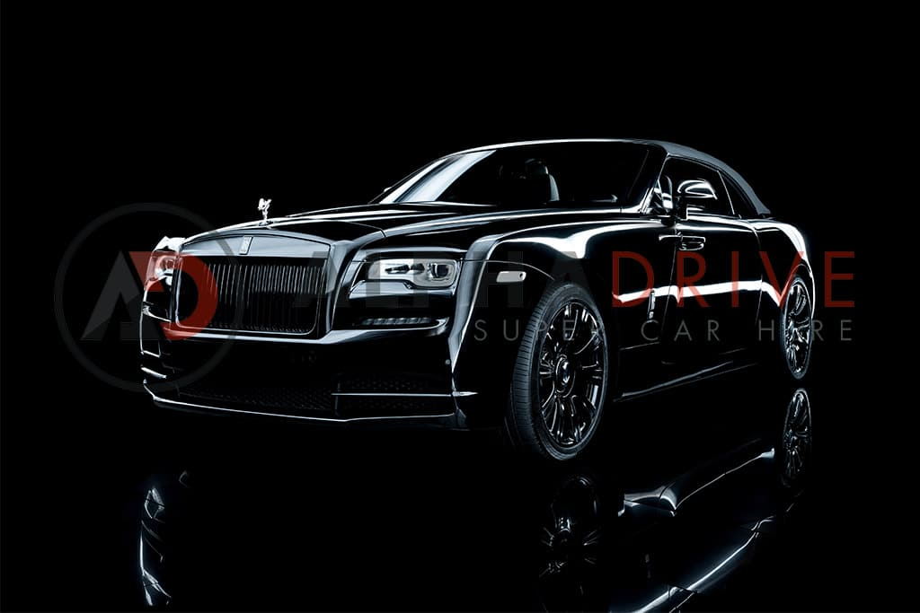 Hire the stunning new Rolls Royce Dawn UK