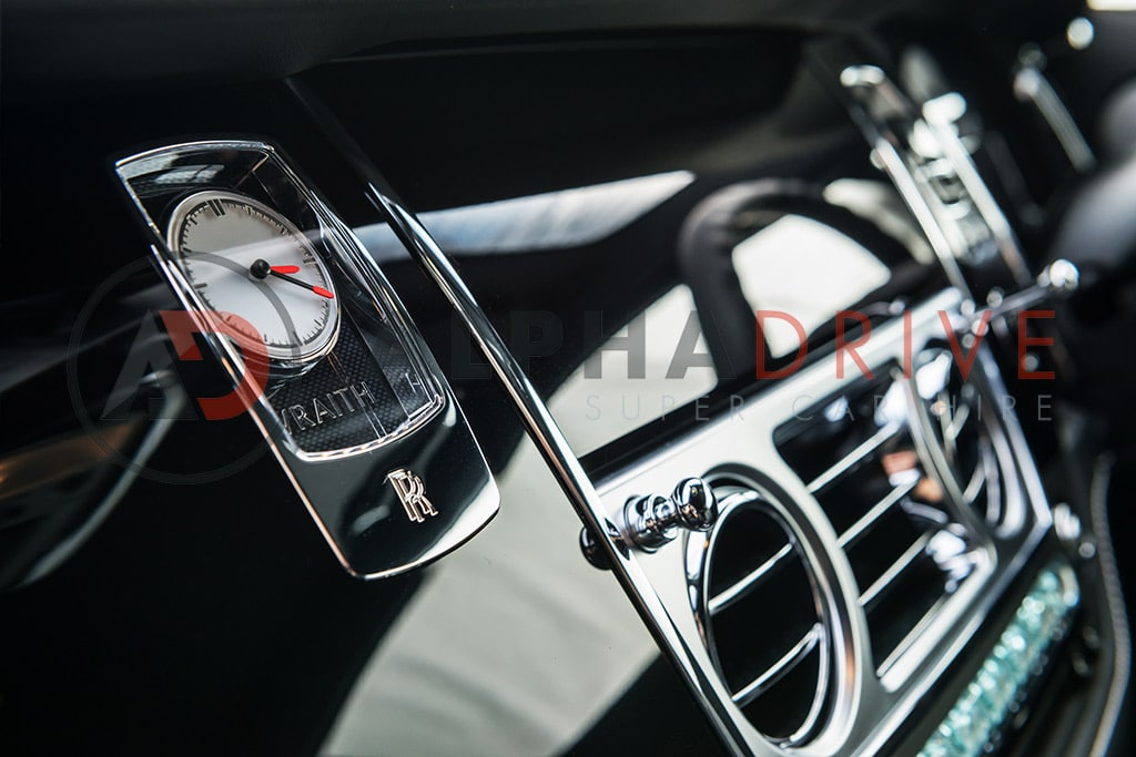 New Rolls Royce Wraith Interior & Dashboard