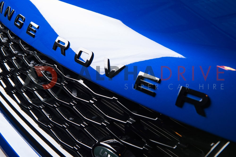 The sports Range Rover Badge