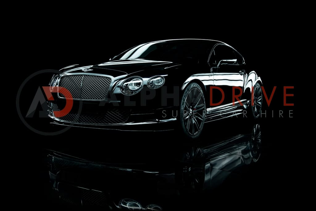 Bentley GT Speed W12 front view