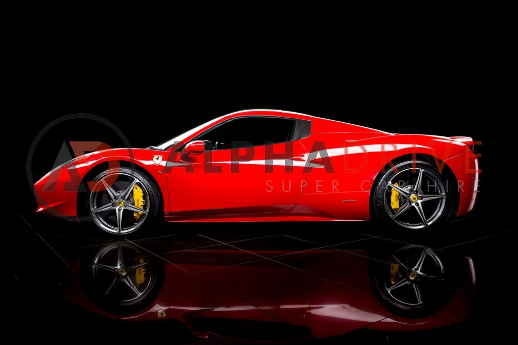 Ferrari-458-Spider-2 side view red