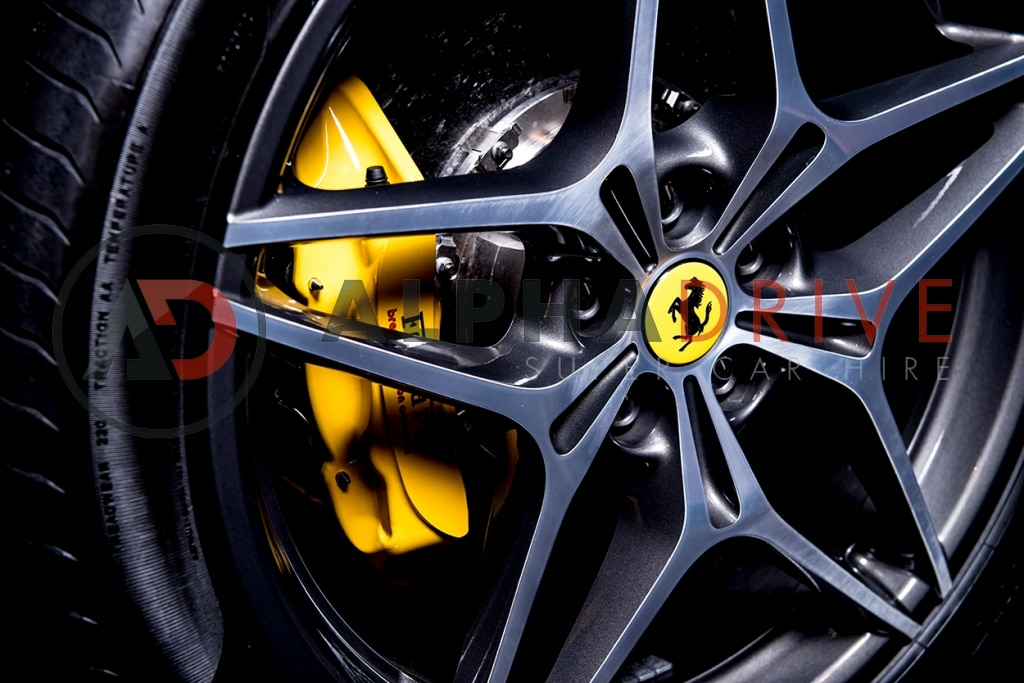 Ferrari alloy wheels