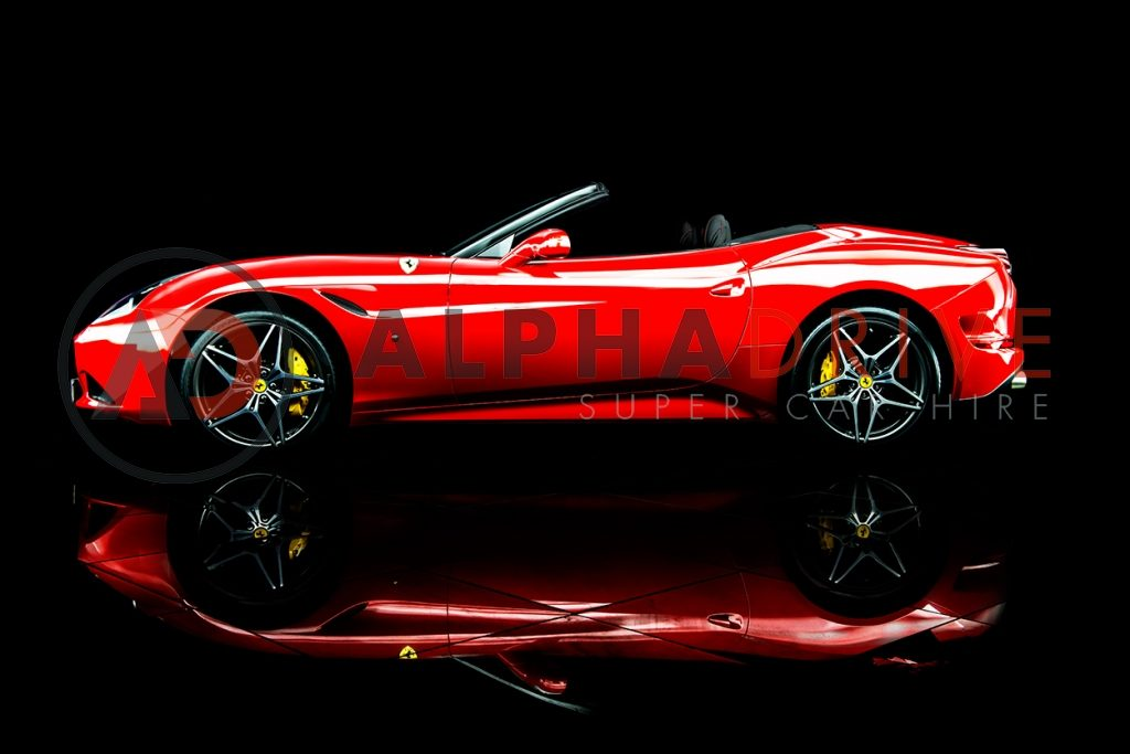 Ferrari-California-T side view roof down