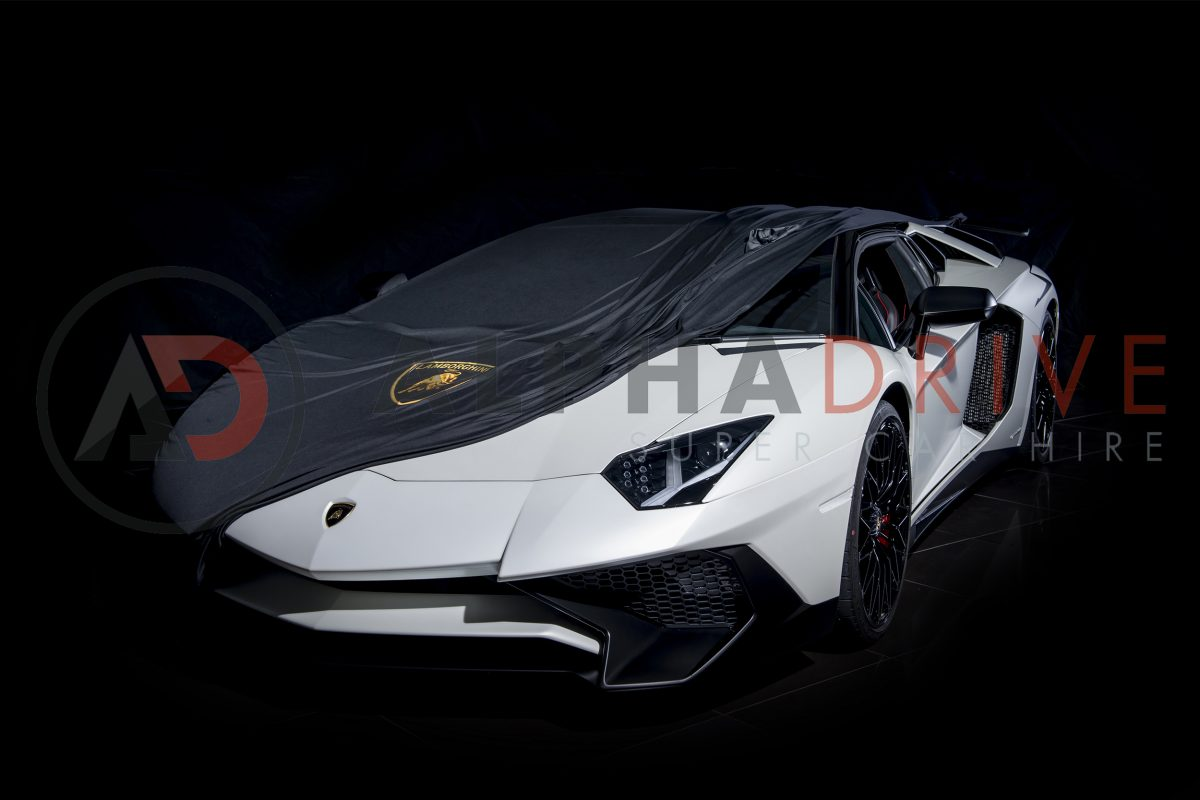 Lamborghini Aventador SV Roadster Front Part Covered