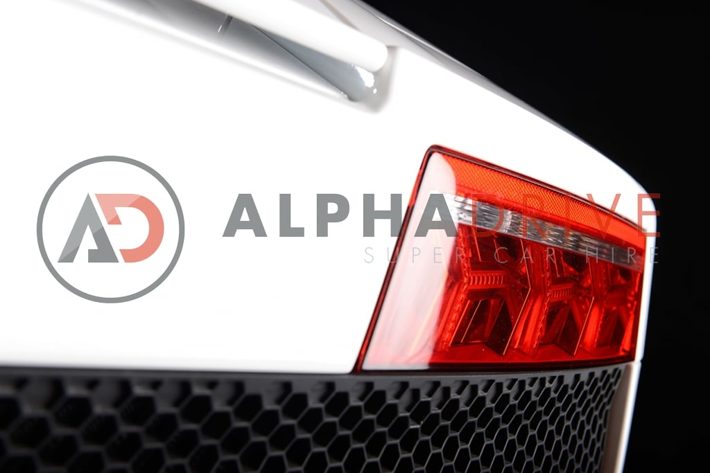 Lamborghini rear lights car hire