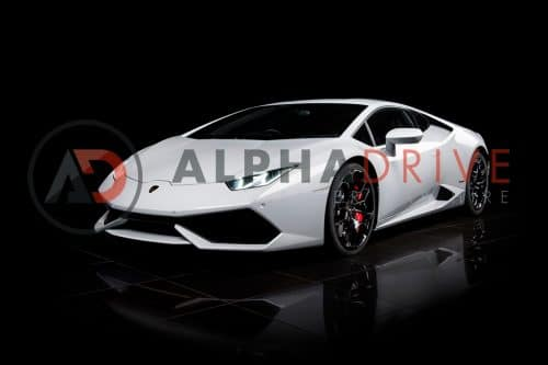 Lamborghini Huracan White London