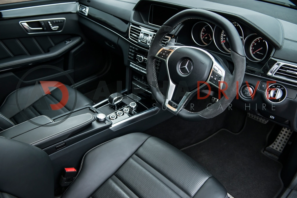 Mercedes interior black
