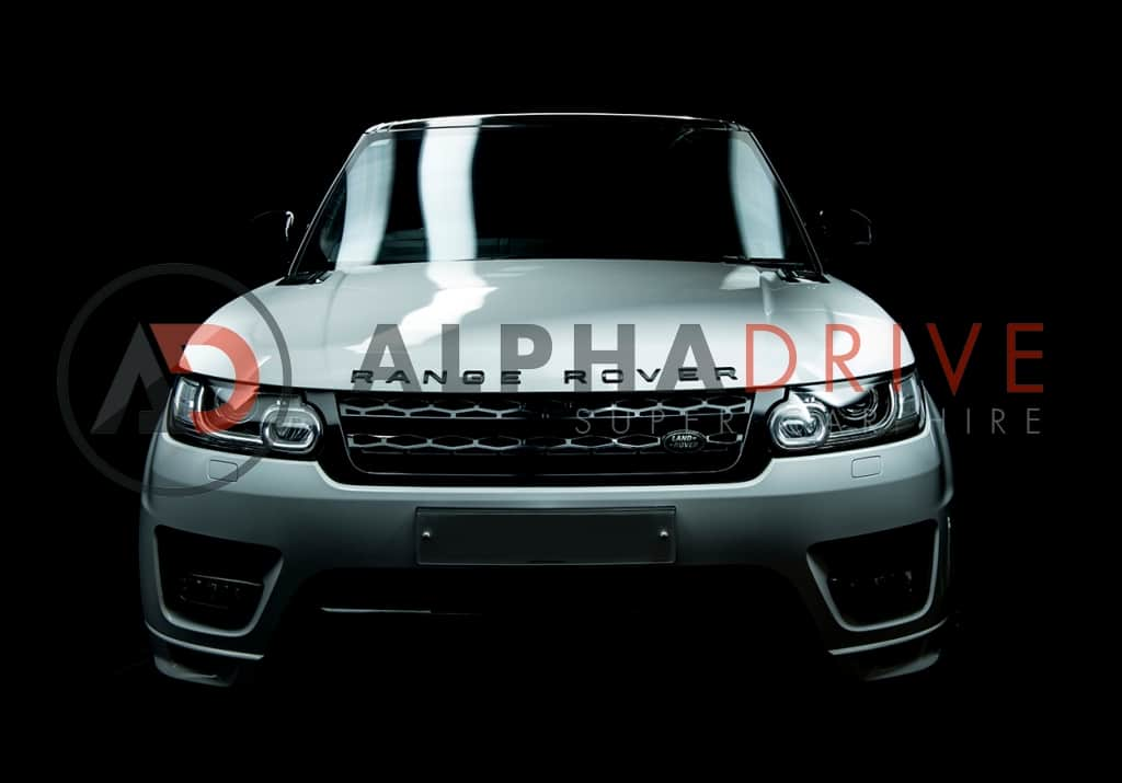 Close up Range Rover front view