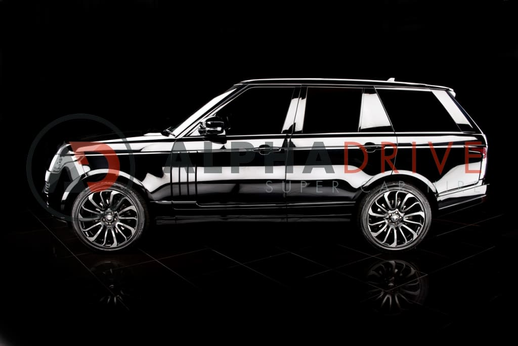 Side view Range Rover