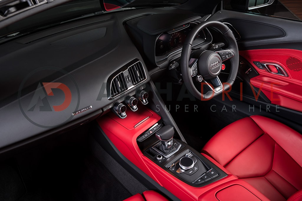 Interior and dash board Audi