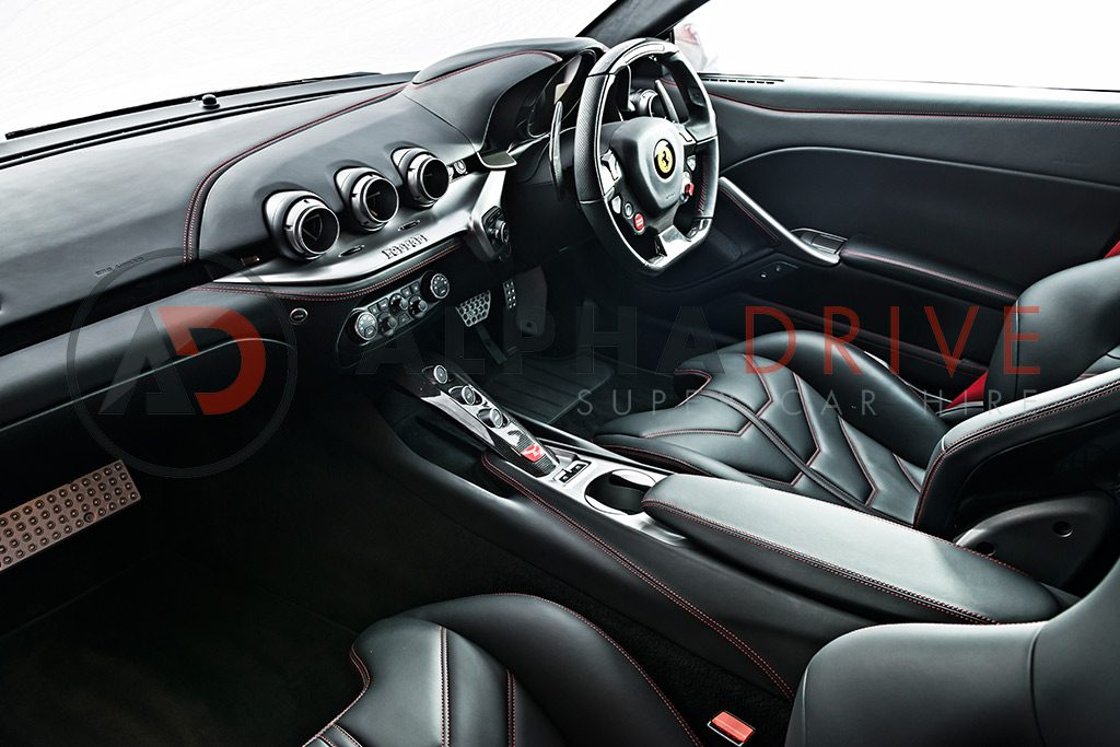 linetta Inside Ferrari F12 Red