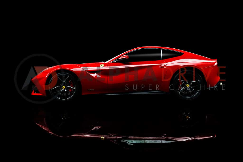 Red Ferrari F12 Car hire