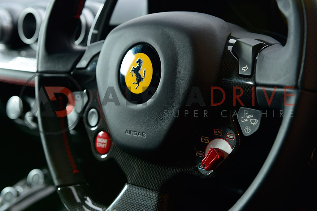 Steering wheel Ferrari London