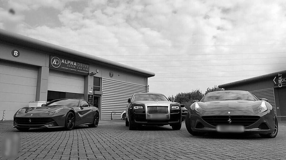 Ferrari and Rolls Royce