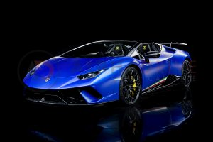 Lamborghini Huracan Performante Spyder Front Roof Off