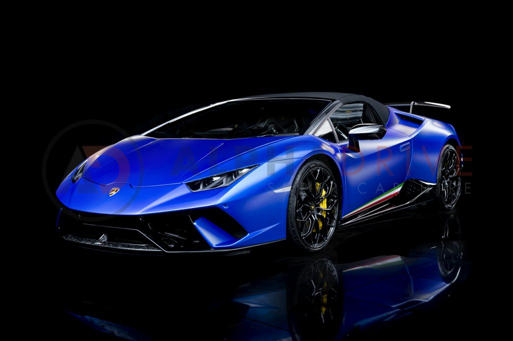 Lamborghini Huracan Performante Spyder Front Roof On