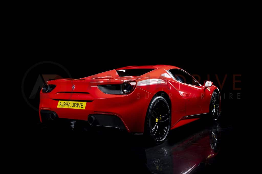Ferrari 488 Spider Rear Roof On