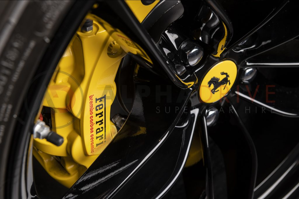 Ferrari 488 Spider Wheel and Caliper